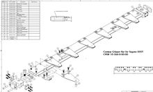Gripper Bar for Sugano 820T