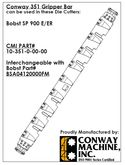 Conway Gripper Bar Complete for