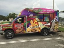 2015 Ford E-350 Food Truck