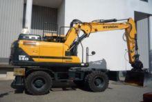 Used Wheeled Excavators Hyundai for sale  Hyundai equipment