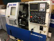 1998 DAEWOO LYNX 200B CNC LATHE