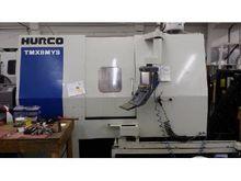 2012 HURCO TMX8-MYS CNC LATHE