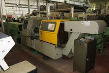 Used 2 axis CNC lathe Galaxy NS