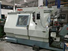 CNC lathe used 4 axes BIGLIA B5