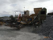 1989 primary crusher Metso C100