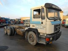 1989 MAN 24-292 F 6X2 Chassis A