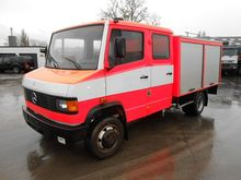 1991 Mercedes Benz 811 D Fire D