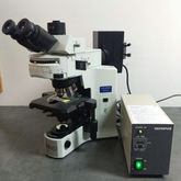 Olympus Microscope BX41 with Fl