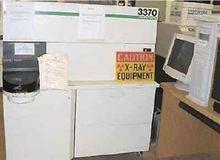 RIGAKU 3370 X-Ray Spectrometer