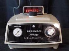 Beckman Airfuge Air-Driven Ultr