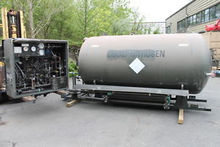 Liquid nitrogen storage tank de