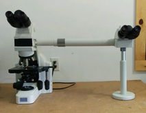 Nikon Microscope E400 with Side