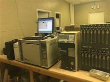HP 5972 Series MS + 5890 II GC,