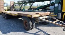 1986 ZDA 240 bed trailer De Ang