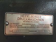 1976 HEIDELBERG SORMZ