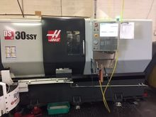 2015 Haas DS-30SSY CNC Turning