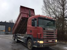 1999 Scania 124 420 Tipping
