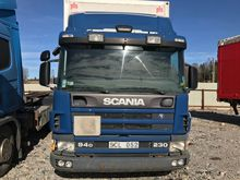 2001 Scania P94 4 × 2 PLS cabin