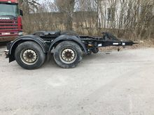 2013 Pacton 2-axled dolly