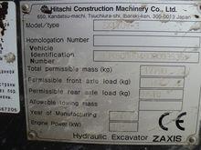 2008 HITACHI ZX170W-3