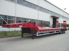 CIMC 60T 60 ton low bed Semi-tr
