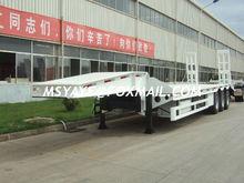 CLYY 50T 70 ton low bed Semi-tr