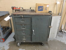 Castered Shop Cabinet w/ Associ