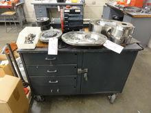 Caster Shop Cabinet w/ 4-Drawer