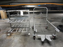 SS Load/Unload Cart w/ Removal