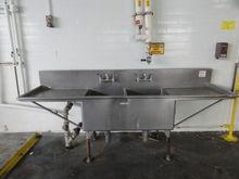 SS Blickman Dual Basin Sink w/
