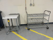3-Tier Castered Wire Cart