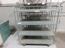 LOT- Metal Cart