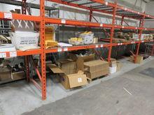LOT- Contents of Orange Shelves