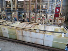White Tin Plating Tank Line
