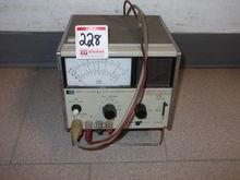 HP High Resistance Meter