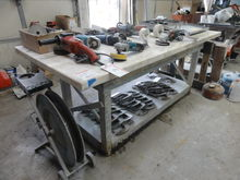 Heavy Duty Wooden Work Bench w/