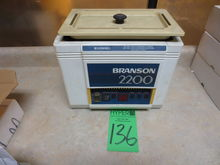 Branson 2200 Ultrasonic Cleaner