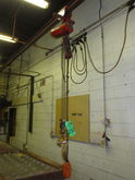 C.M. 300lb Hoist with 30ft Rail