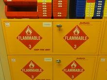 SciMatCo 2-Door Flammable Stora