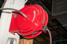 Reelcraft Air hose reel mtd on