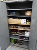 Lyon 2-Door Metal Storage Cabin