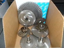 Large Lot Box of Cutting Wheels