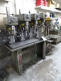 Clausing 4-Head Drilling Machin