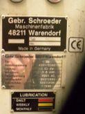 1999 SCHROEDER Linia strugania