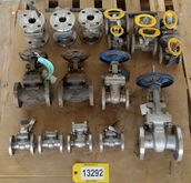 LOT OF USED BALL VALVES, CHECK