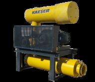Used Kaeser 125 HP Omega 82 plu