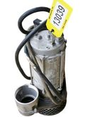USED STAINLESS STEEL SUMP PUMP