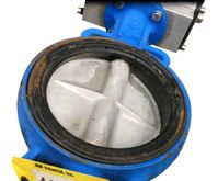 "Used 6"" Butterfly valve with st"