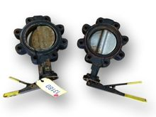 "USED 6"" APOLLO BUTTERFLY VALVES"
