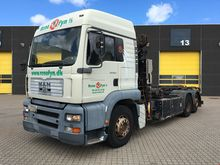 2001 MAN TGA 26.410 cable syste